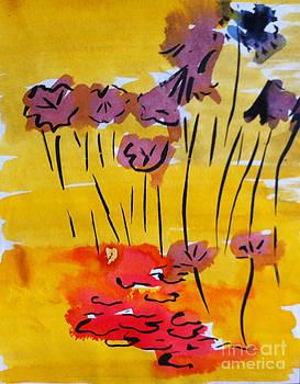 Water Lillies by Michelle Deyna-Hayward