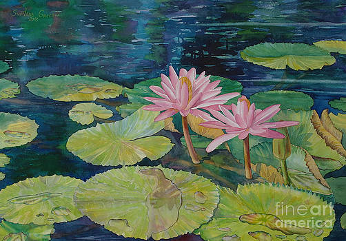 Water lily in the morning by SvetLana Grecova