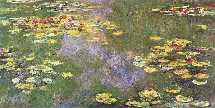 Claude Monet - Water-Lily Pond Giverny
