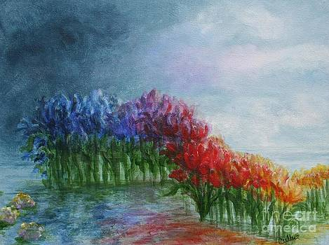 Water Rainbow I by Christine Cullen-Reed