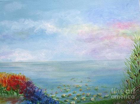 Water Rainbow II by Christine Cullen-Reed