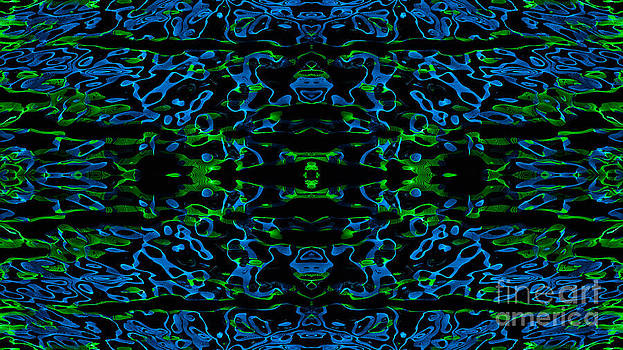 Vivian Christopher - Water reflections Abstract 1