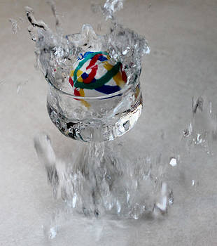 Water Splash by Danielle Allard