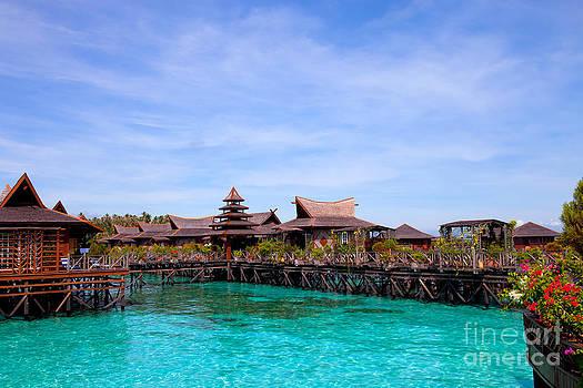 Fototrav Print - Water village Borneo Malaysia