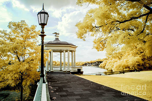 Water Works and Boathouse Row by Stacey Granger
