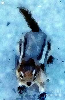 Gail Matthews - Watercolor Chipmunk