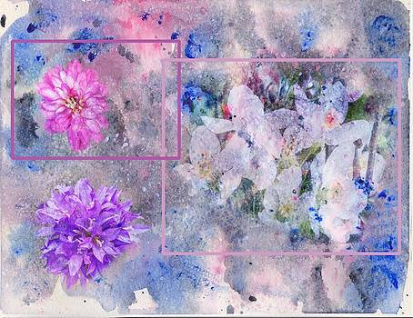 Watercolor Flowers by Carolyn Meuer-Pickering of Photopicks Photography and Art