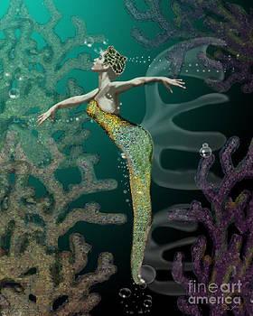 Waterdance Blue by Dia T