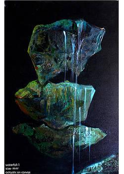 Waterfall-1 by Prakash Patil