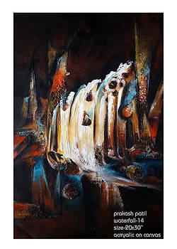 Waterfall-3 by Prakash Patil