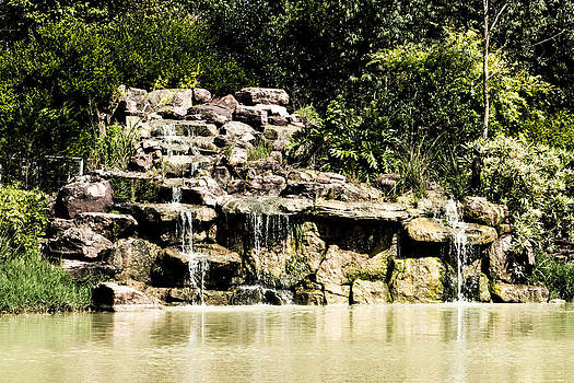 Waterfall by Christen Weber