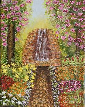 Waterfall Garden by William Ohanlan