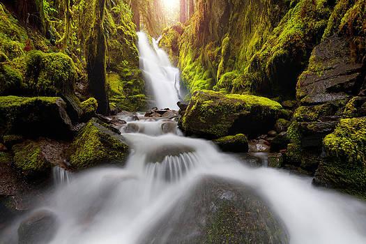 Waterfall Glow by Andrew Kumler