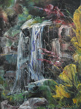 Waterfall III by Stefano Popovski