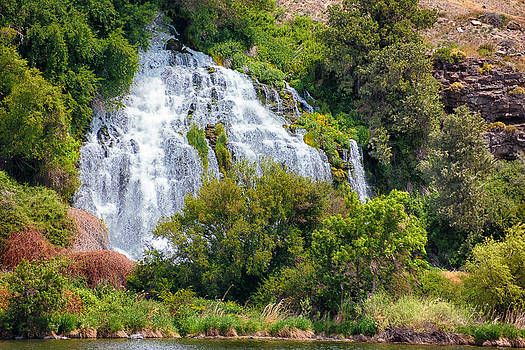 Waterfall In Idaho by Christy Patino