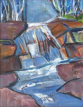 Betty Pieper - Waterfall in Modern Art