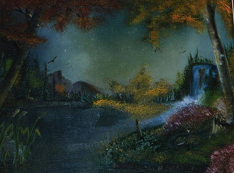 Waterfall by Jacob Hostetler