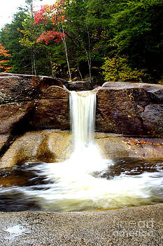 Waterfall New Hampshire  by Tabatha Knox