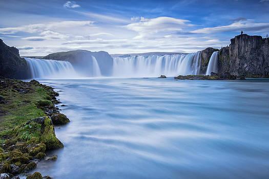 Waterfall of the Gods by Arnar B Gudjonsson