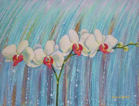 Waterfall Orchid  by Bonnie Golden