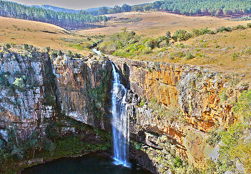Waterfall South Africa by James  Wasdell