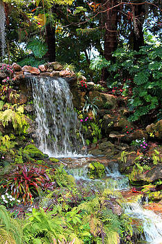 Waterfall by Sherry Russell