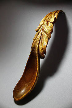 Waterfall Spoon 1 by Abram Barrett
