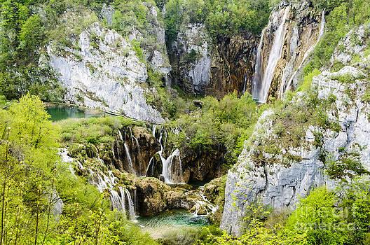 Oscar Gutierrez - Waterfalls at Plitvice Lakes National Park  Croatia