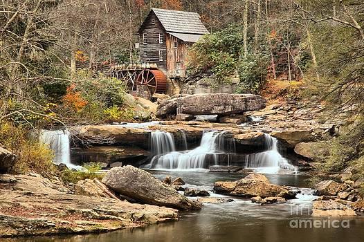 Adam Jewell - Waterfalls Below The Grist Mill