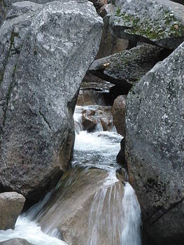 Waterflow Through the Rocks by Jesse Flaherty