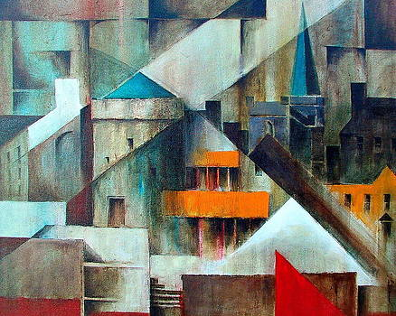 Val Byrne - Waterford Abstraction