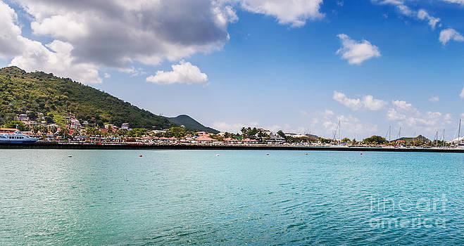 Jo Ann Snover - Waterfront in Marigot St Martin