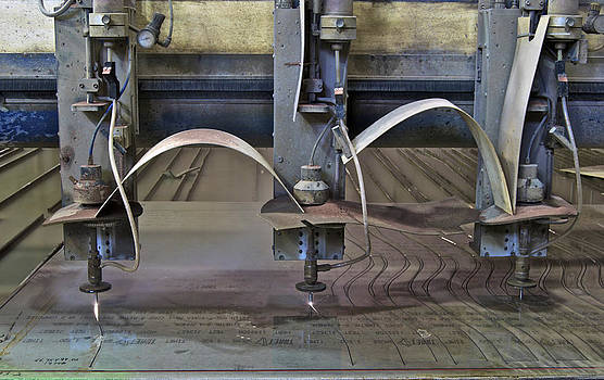 Michael Peychich - Waterjet Cutter