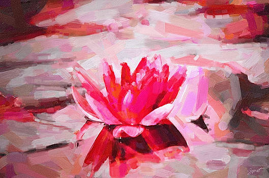 Gynt   - Waterlily painting