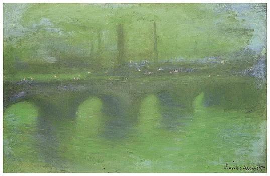 Claude Monet - Waterloo Bridge London at Dusk