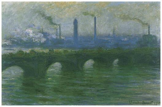 Claude Monet - Waterloo Bridge Overcast Weather