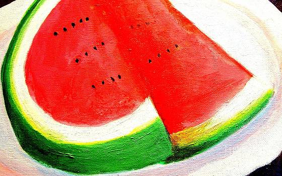 Watermelon by Doreen Kirk by Doreen Kirk