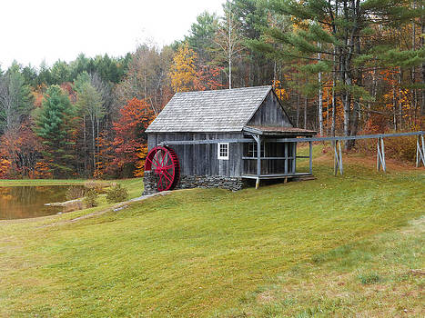 Watermill Rockingham Vermont by Jim  Wallace
