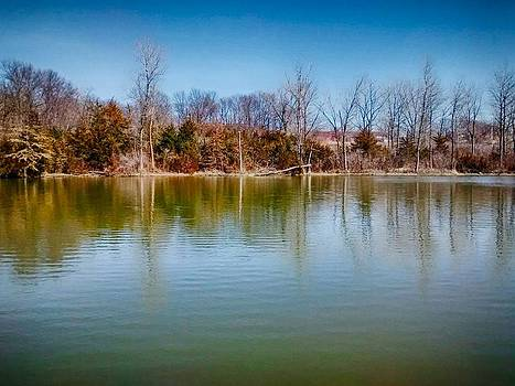 Waters Of Dam 6 by Dustin Soph