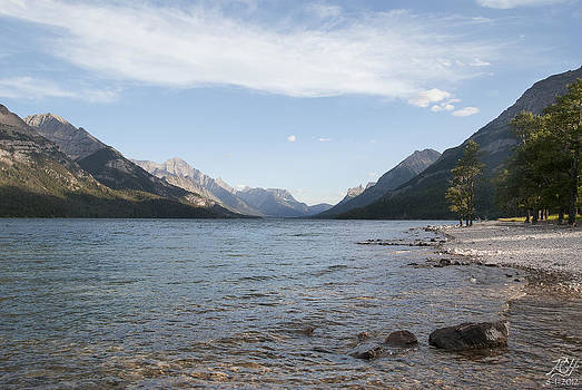 Waterton Lake by Kenneth Hadlock