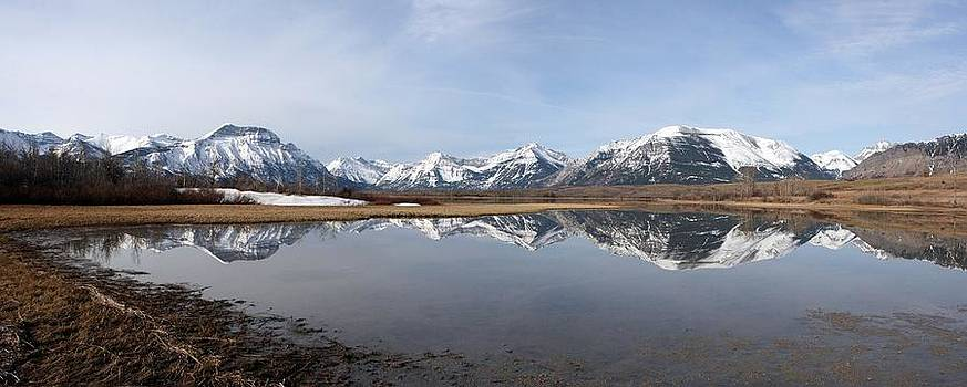 Waterton Lakes Nat. Park, Alberta - Panorama by Ian Mcadie