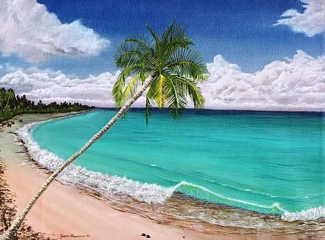 Wave Break Beach by Kevin F Heuman