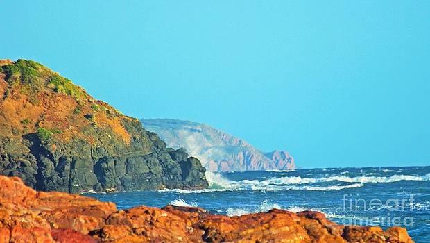 Wave crash by Blair Stuart