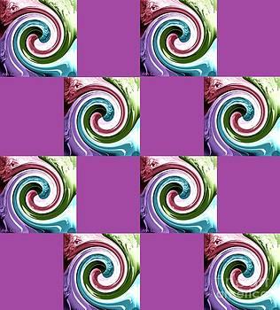 Wave of Purple 2 by Ann Calvo