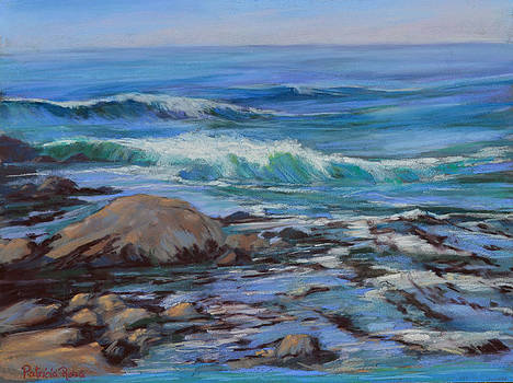 Waves and Seaweed by Patricia Rose Ford