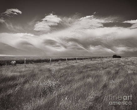 Waves Breaking Over the Prairies by Royce Howland