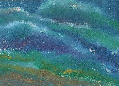 Shan Ungar - Waves Crashing Upon the Shore