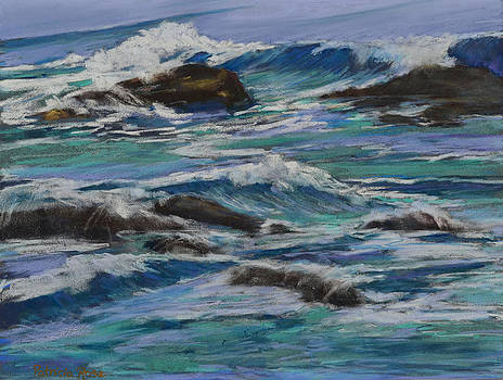 Waves II by Patricia Rose Ford