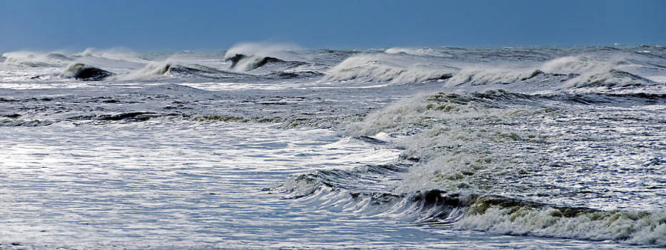 Waves off Sandfiddler Rd Corolla NC by Greg Reed
