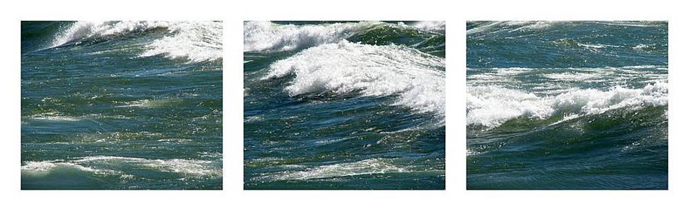 Michelle Calkins - Waves Triptych ll